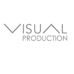 "Logo organizatora. Napis ""Visual production""."