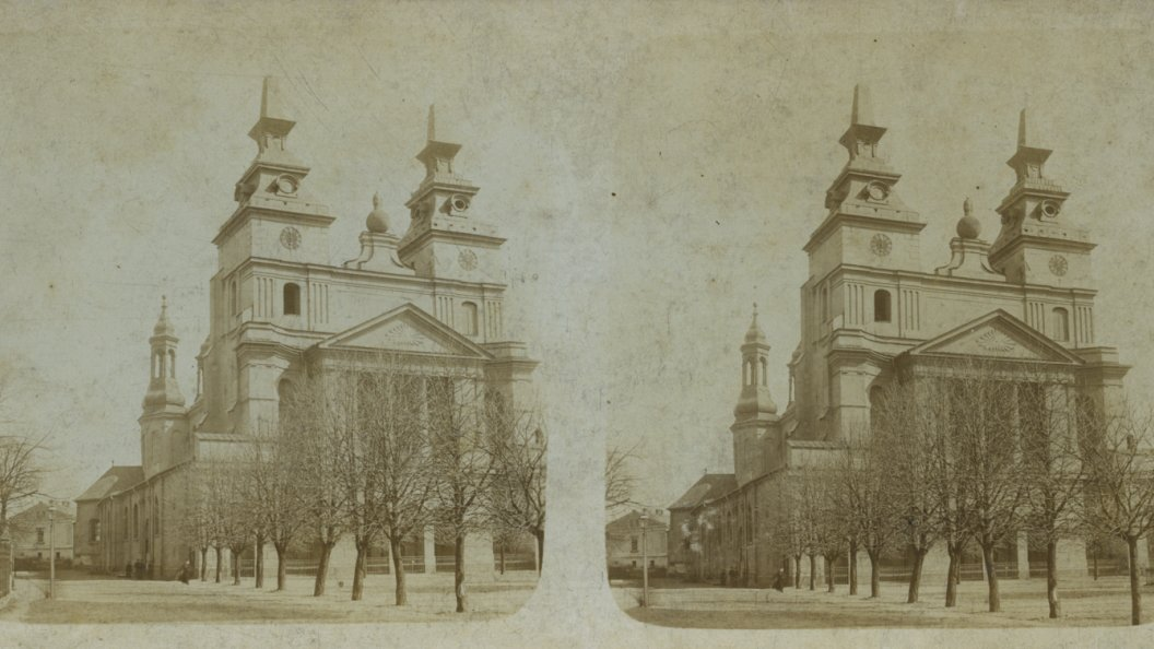 Poznań's Cathedral on Ostrów Tumski (Cathedral Island), late 19th/early 20th centuries. Courtesy of the University Library of Poznań
